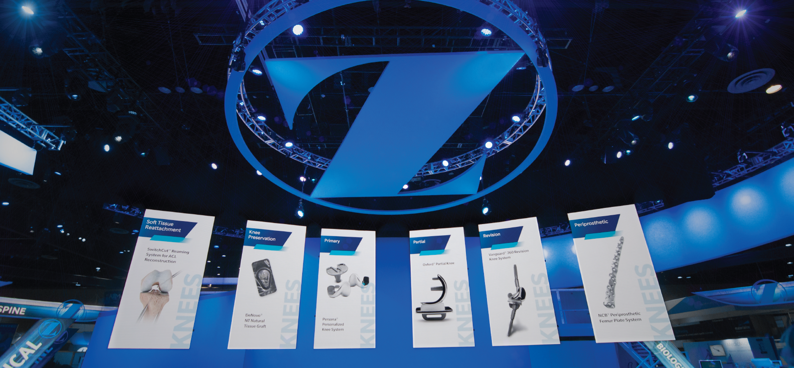 Riverview Systems Group Designs Massive Exhibit Presence For Zimmer ...