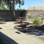 Outdoor Cafe & Work Stations