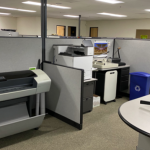 Printing, Binding & Cutting Station